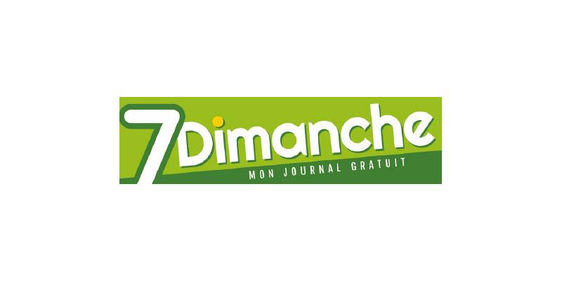 7 dimanche logo
