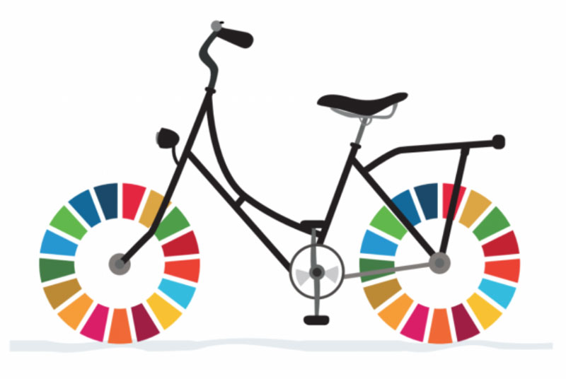 Cycling for the Global Goals
